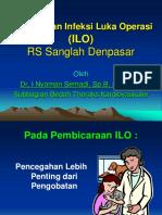 Pengelolaan Infeksi Luka Operasi (ILO)