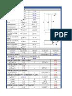 Calculate SteelBeam H800 Ok