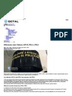 OCTAL-Preguntas Frecuentes-Diferencias Entre Tubería API 5L PSL1 y PSL2 - Octal