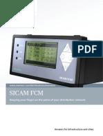 SICAM FCM IC1000-G220-A145-V1-4A00 Broschuere en Einzelseiten