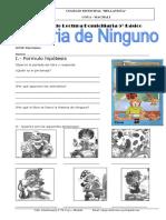 Guía de Apoyo de Lectura Domiciliaria 5º Básico historia de ninguno.docx