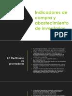 Indicadores de Gestíon-Equipo Gutiérrez Lora