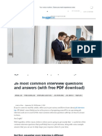 26 Most Common Interview Questions and Answers (With Free PDF Download) _ Transparency