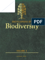 Encyclopedia of Biodiversity - Vol. 2