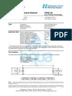 BQUA - Hydranautics CPA5-LD Membrane