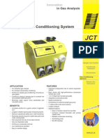 JCL 301 Compact Gas Conditioning System