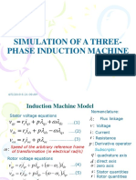 SIMULATION OF A THREE-PHASE INDUCTION MACHINE.ppt