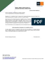 Technical Notice MARPOL 1 - MARPOL Annex IV Regulation 10.1 Standard Discharge Connections