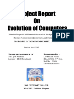 Evalution of Computer.docx