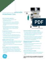 Aisys CS2 Spec Sheet