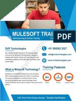 Mulesoft 3.x Development Course Content PDF _ SVR Technologies.pdf