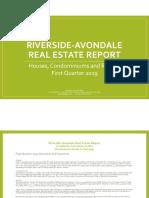 Q1 2019 Riverside-Avondale Real Estate Report