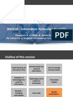W10 - ICT Applications for LSCM