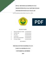 PERBANDINGAN METODE ILMIAH DAN PROSES KEPERAWATAN.docx