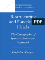 Cinque - 2012 - Reestructuring and Functional Heads.pdf