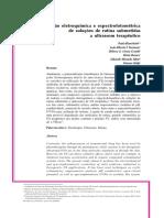 Avaliação eletroquímica e espectrofotométrica de soluções de rutina submetidas a ultrassom terapêutico.pdf