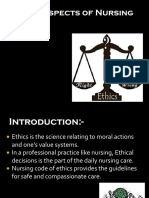 Ethical Aspects of Nursing
