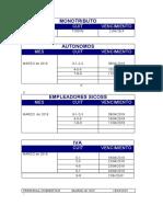 Boletin Impositivo - Abril 2019