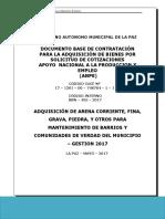 Dbc Anpe Compra de Arena-piedra