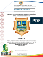 Tdr Iniciales