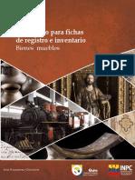 2012. Instructivo para fichas de Inventario de Bienes Culturales Muebles.pdf