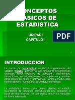 Conceptos Basicos de Estadistica
