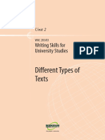 Writing Skills for Uni Studies U2