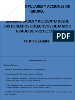 Acciones populares en el derecho colombiano