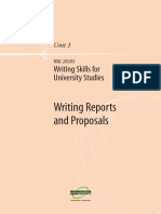 Writing Skills for Uni Studies U3