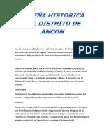 RESEÑA HISTORICA DEL DISTRITO DE ANCON.docx