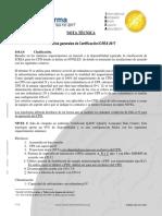 Criterios Generales de Certificacion Norma ICREA 2017