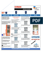 Guia Rapida de Uso de Detector de Gases Ventis MX4