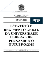 BO92 20181029 Estatuto e Regimento Da UFPE