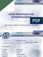 Actas Policiales Perito Consultores Tecnicos