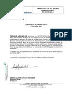 certificacion parafiscales 2019