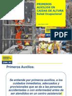 PRIMEROS AUXILIOS EN CAIDAS DE ALTURA.pptx
