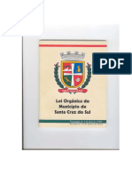 Lei Organica Santa Cruz Do Sul