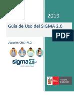 Guía de Uso Sigma 2.0 - Cci-rci