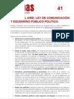 FichaMapas041 - Parte del aire - Ley de Comunicación y escenario público político