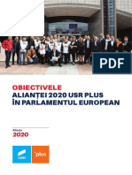 Obiective Europarlamentare Alianta2020