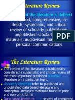 Literature Review 2017