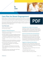Care Plan for Breast Engorgement
