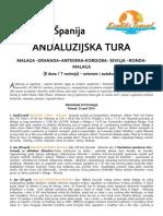 Andaluzijska Tura Uskrs 2019. Cen 2 KT