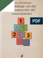 Aprendizaje escolar y construcción del conocimiento