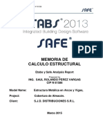 Etabs - Manual de Calculo de techo parabólico