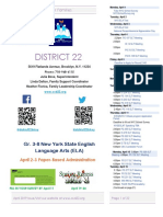 District 22 Newsletter April 2019.Docx
