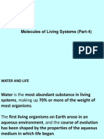 Molecules of the Living System Part 4