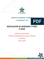 CÓMO FORMATEAR E INSTALAR WINDOWS 7.docx