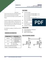 AM8205 Mosfet Dual Nchanel Smd Datasheet