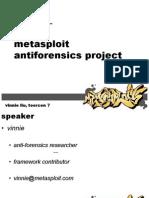 Anti Forensics